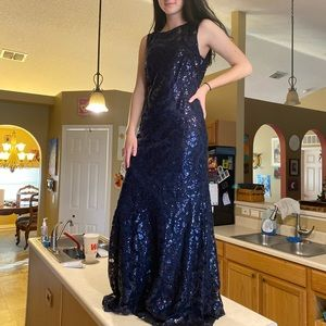 Women's Calvin Klein formal gown
